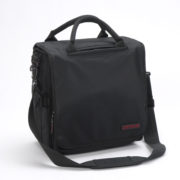 LP-bag 40 II black-red — side